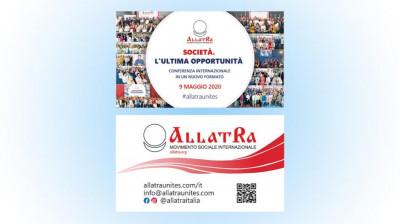 Biglietto da visita SOCIETÀ. L'ULTIMA OPPORTUNITÀ 9 maggio 2020