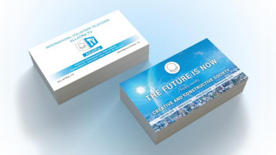 Business card THE FUTURE IS NOW