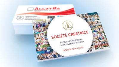 Carte de visite Société Créatrice