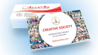 CREATIVE SOCIETY business card