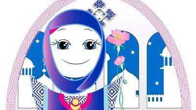 Добрый мотиватор с Аллатрушкой на английском «Арабская мудрость - Сердце видит раньше головы»