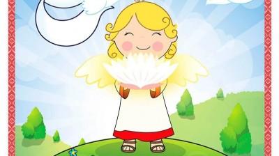 Добрый мотиватор с Аллатрушкой на английском «Доброта – это чистая совесть!»
