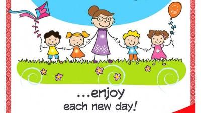 Добрый мотиватор с Аллатрушкой на английском «Доброта – это радоваться каждому новому дню»