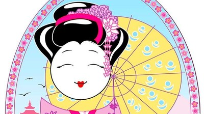 Добрый мотиватор с Аллатрушкой на английском «Японская мудрость - Доброго дела не откладывай»