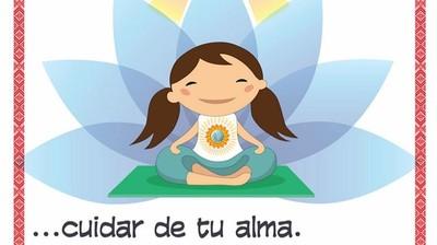 Добрый мотиватор с Аллатрушкой на испанском «Доброта – это заботиться о душе»