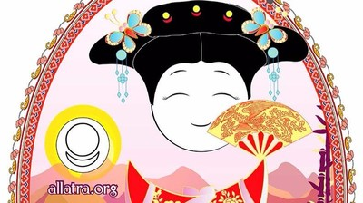 Добрый мотиватор с Аллатрушкой на греческом «Китайская мудрость - Подлинная доброта вырастает из сердца человека»
