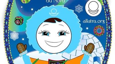 Добрый мотиватор с Аллатрушкой на французском «Мудрость народов севера - Дружба силу добавляет»
