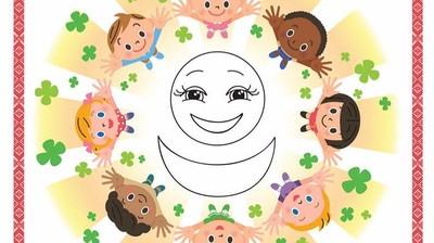 Добрый мотиватор с Аллатрушкой на испанском «Доброта – это дарить радость окружающим»