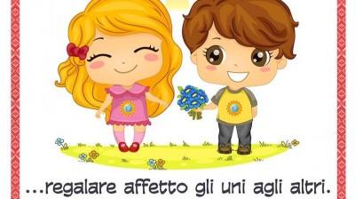 Добрый мотиватор с Аллатрушкой на итальянском «Доброта – это дарить тепло друг другу»