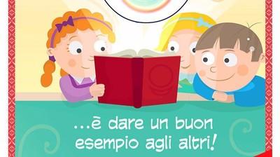 Добрый мотиватор с Аллатрушкой на итальянском «Доброта – это подавать хороший пример другим»