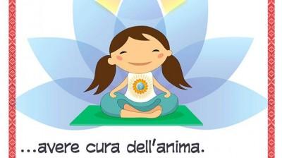 Добрый мотиватор с Аллатрушкой на итальянском «Доброта – это заботиться о душе»