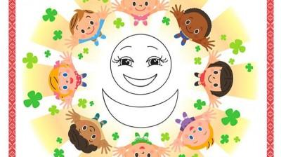 Добрый мотиватор с Аллатрушкой на китайском «Доброта – это дарить радость окружающим»