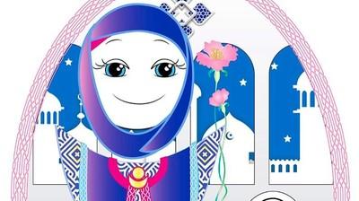 Добрый мотиватор с Аллатрушкой на немецком «Арабская мудрость - Сердце видит раньше головы»