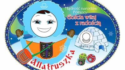 Добрый мотиватор с Аллатрушкой на польском «Мудрость народов севера - Гостя встречай с радостью»