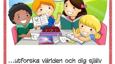Добрый мотиватор с Аллатрушкой на шведском «Доброта – это познавать мир и себя»