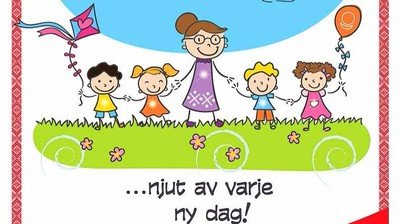 Добрый мотиватор с Аллатрушкой на шведском «Доброта – это радоваться каждому новому дню»