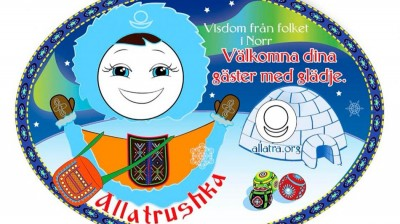 Добрый мотиватор с Аллатрушкой на шведском «Мудрость народов севера - Гостя встречай с радостью»