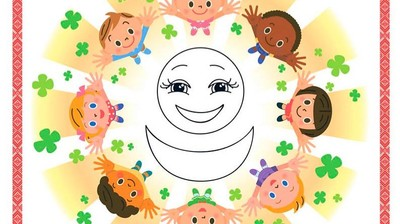 Добрый мотиватор с Аллатрушкой на японском «Доброта – это дарить тепло друг другу»