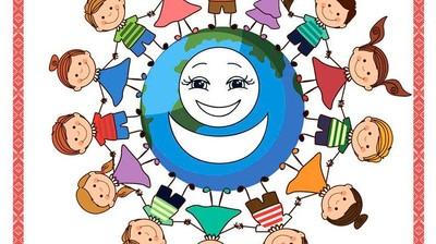 Добрый мотиватор с Аллатрушкой на японском «Доброта – это помогать друг другу»