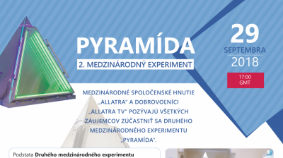Druhý experiment PYRAMÍDA