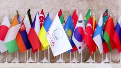 Флаг АллатРа настольный