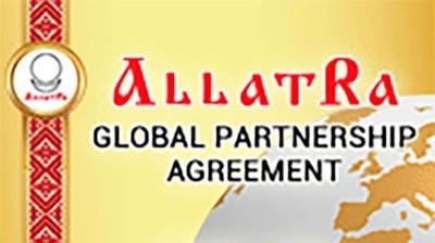 """Интернет-баннер """"Глобальное партнерское соглашение """"АллатРа"""""""" 179x150px"""