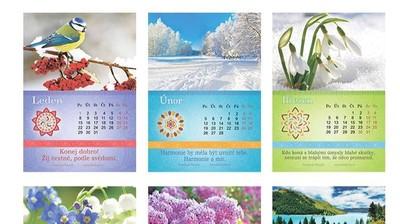 """Kalendář """"Příroda"""" 2018"""