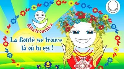 Календарь на французском со Славяночкой. La Bonté se trouve là où tu es !
