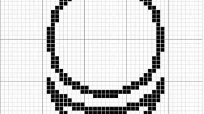Макет вышивки знака АллатРа 2 вариант (3см)