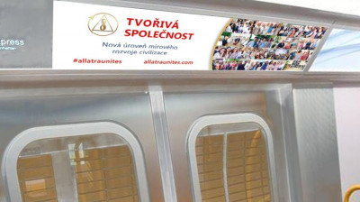 Metro banner TVOŘIVÁ SPOLEČNOST