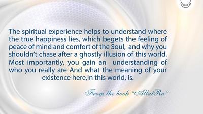 Мотиватор. Духовный опыт помогает понять. На английском