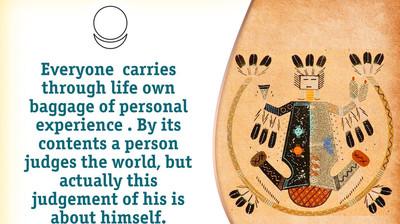 Мотиватор. Каждый несёт по жизни свой багаж личного опыта. На английском