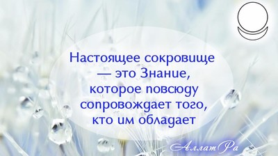 Мотиватор. Настоящее сокровище — это Знание.