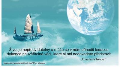 """Мотиватор """"Život je nepředvídatelný a může se v něm přihodit ledacos..."""""""