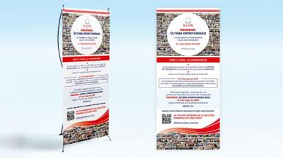 X banner SOCIEDAD. ÚLTIMA OPORTUNIDAD 9 de Mayo 2020
