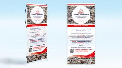 X banner SOCIETÀ. L'ULTIMA OPPORTUNITÀ 9 maggio 2020