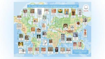 Инфографика ЖУЧОК Символ просветления в артефактах разных культур мира